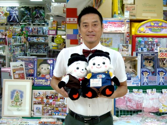 プリモプエル つゆっきー園長先生がおもちゃのジャンボに来てくれました。