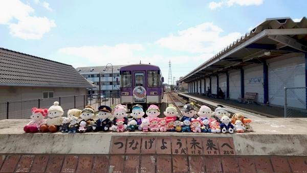 沢山のお友だちプエルちゃんたちがプリモ列車に乗った時のお写真だそうです。