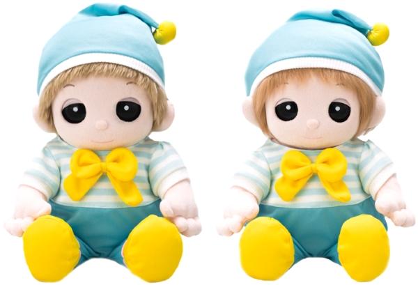 夢の子ユメル 夢の子ネルル 夢の子ミルルのお洋服 夢の子コレクション45 水色ロンパース 帽子付き