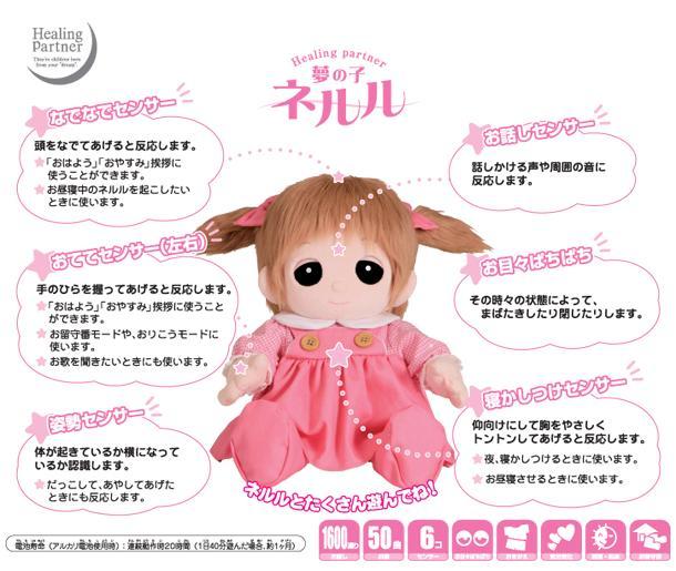 【おもちゃのジャンボ】 ユメル/YUMEL 夢の子ネルル ユメル ネルル ミルル 通販 販売